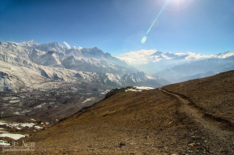 тропа, гималаи, непал