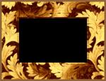 Gold Floral Rectangle Frame.png