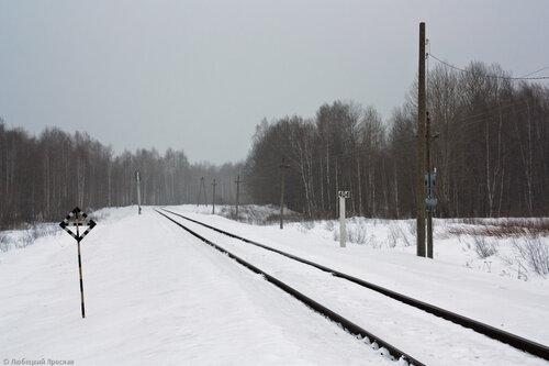 Перегон Сухиничи-Узловые - Барятинская, 404-ый км