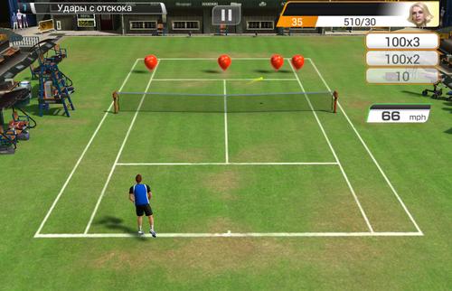 управление на wii sports теннис советы