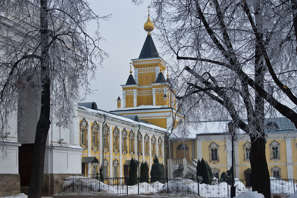 Фото угрешского монастыря в дзержинске