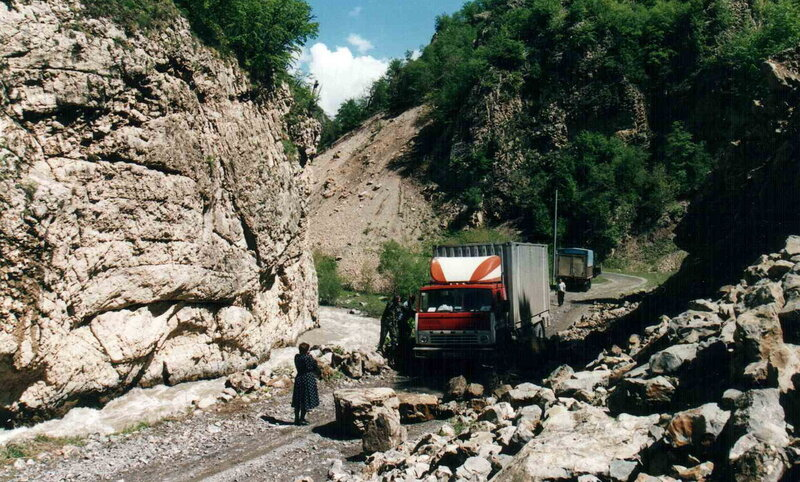 Путь в Карабах. Кельбаджарский  р-н, ущелье реки Трту.jpg