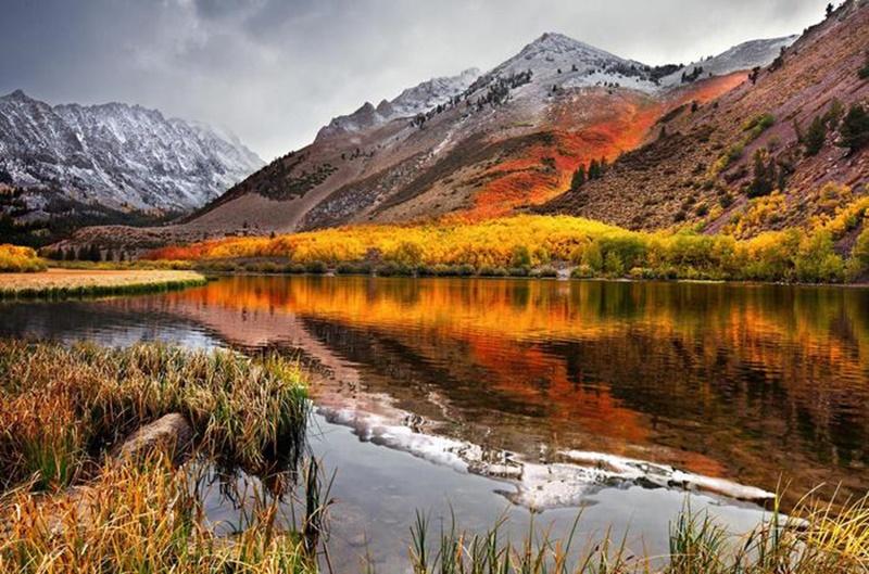 Осенние озера: 30 фотографий 0 145de2 9744265f orig