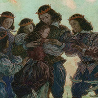 Антон Ломаев, Дикие лебеди