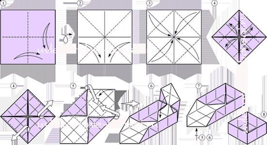 идеи: Коробочки оригами