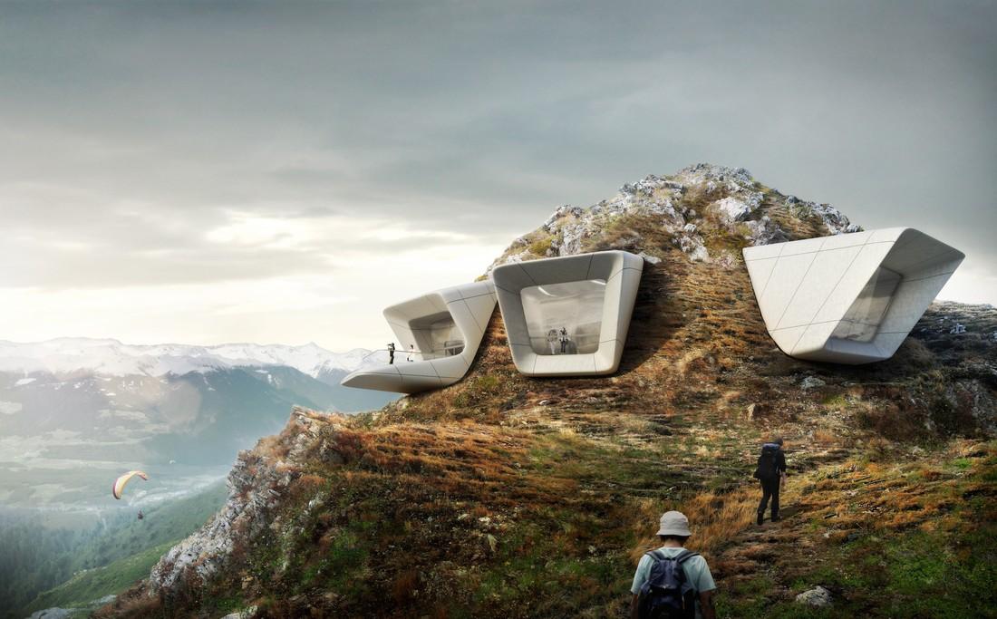 1. MMM Corones — музей имени альпиниста Райнхольда Месснера.