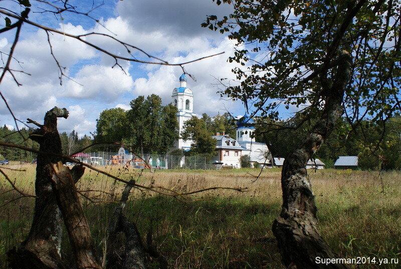 Богородицерождественский храм в деревне Нестерово