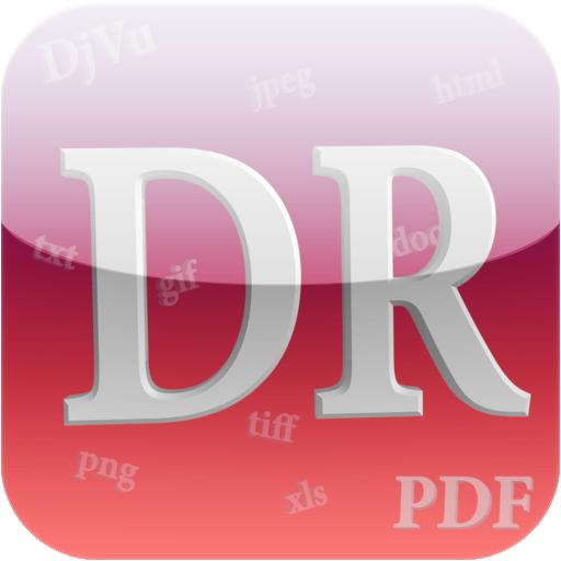 [HD] DjVu Reader [v1.5.1, Книги, iOS 5.0, ENG]