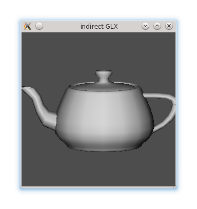OpenGL teapot