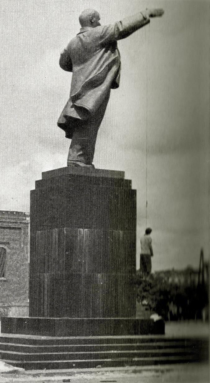 Воронеж, площадь Ленина. Июль 1942 года.