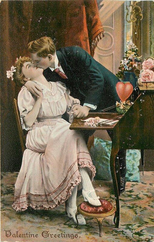 Старые открытки по любовь, картинки доброе