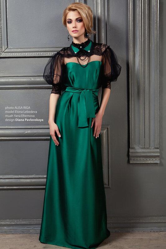 Новогодние платья,купить вечернее платье от Дианы Павловской