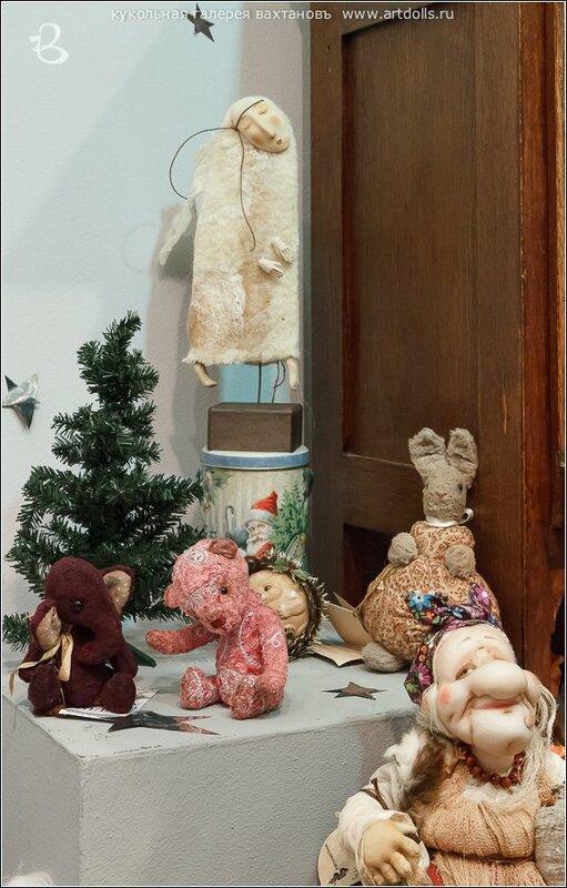 Выставка минимишек Тедди