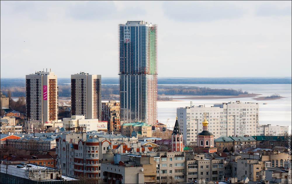 Самые высокие здания самары фото