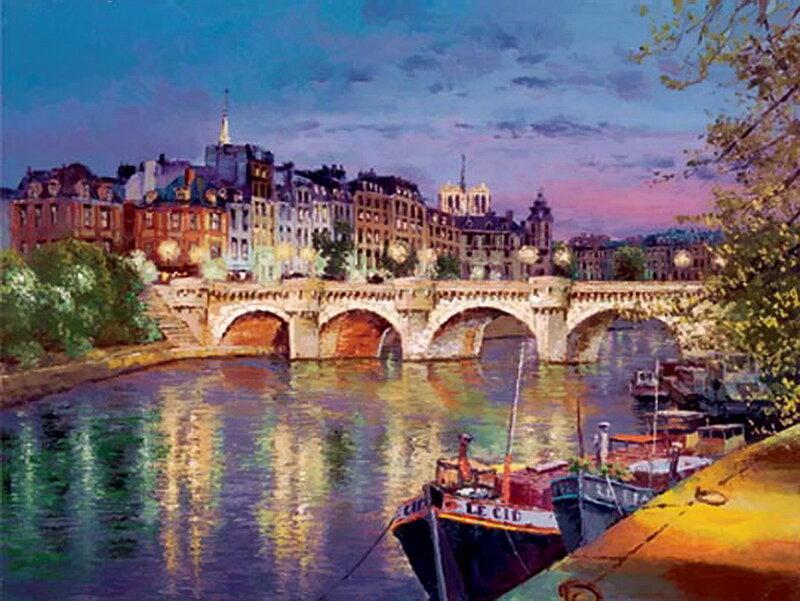 Twilight Paris, 3/16/05, 6:20 PM,  8C, 8996x11962 (0+2), 150%, straight 6 sto,   1/8 s, R80.3, G68.4, B80.6