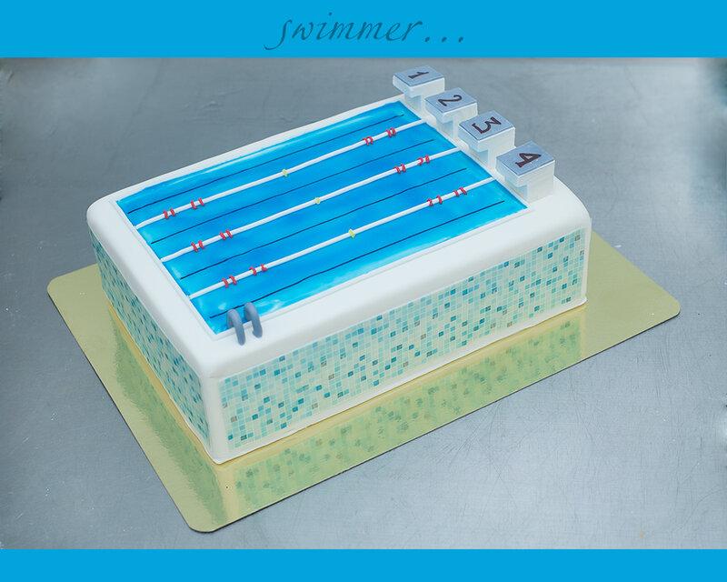 свитой торты с плаванием картинки будут неуместны яркие