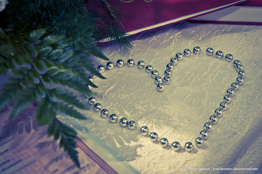 панько pavelpanko свадьба бусы сердце