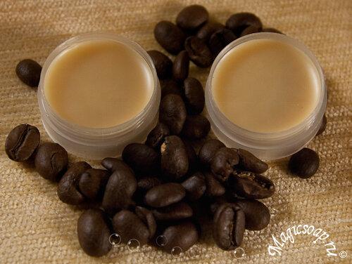 кофейный бальзам для губ