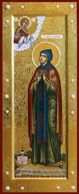 Святая преподобная Мария Радонежская