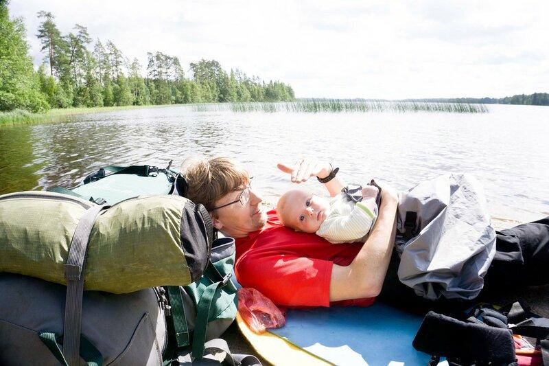 отдыхаем на озере Торса в Torsanpää