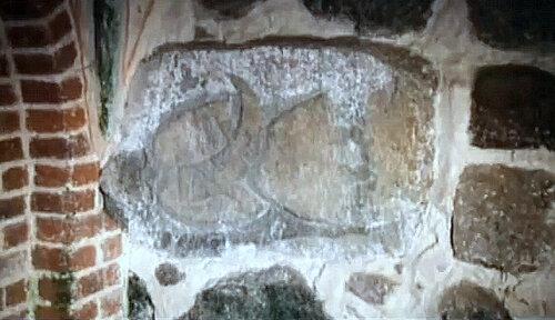 Камень из храма Свентовита