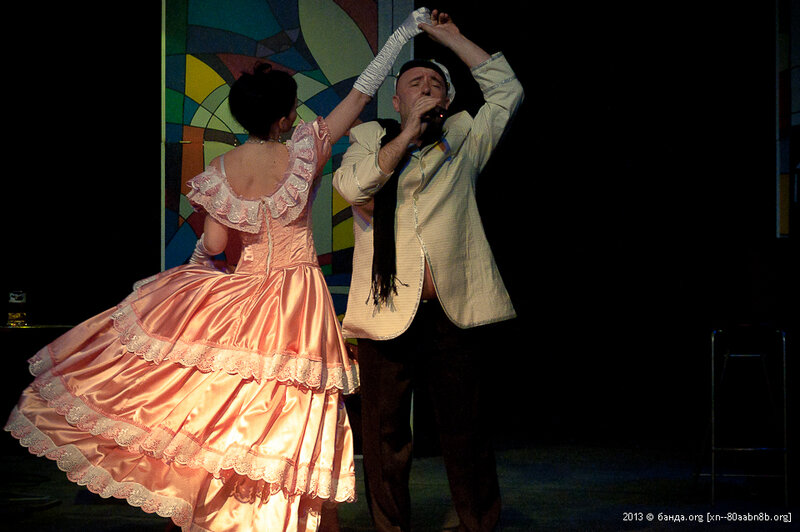 Казачий театр - 8 марта 2013 год