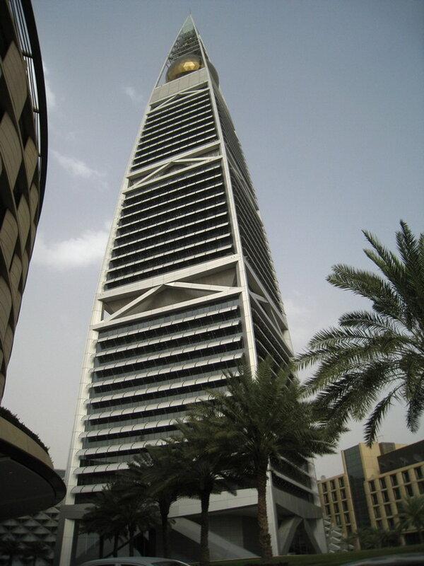 Небоскреб Ай-Файзалия. Эр-Рияд, Саудовская Аравия