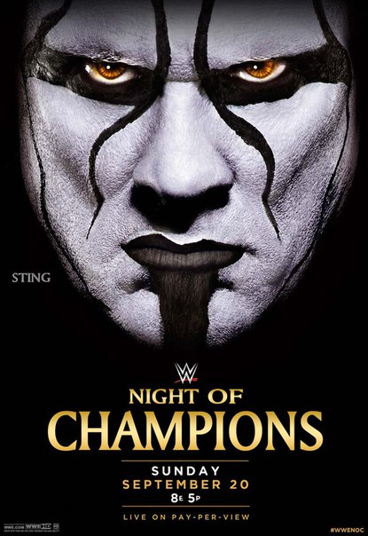 Post image of WWE Night of Champions 2015