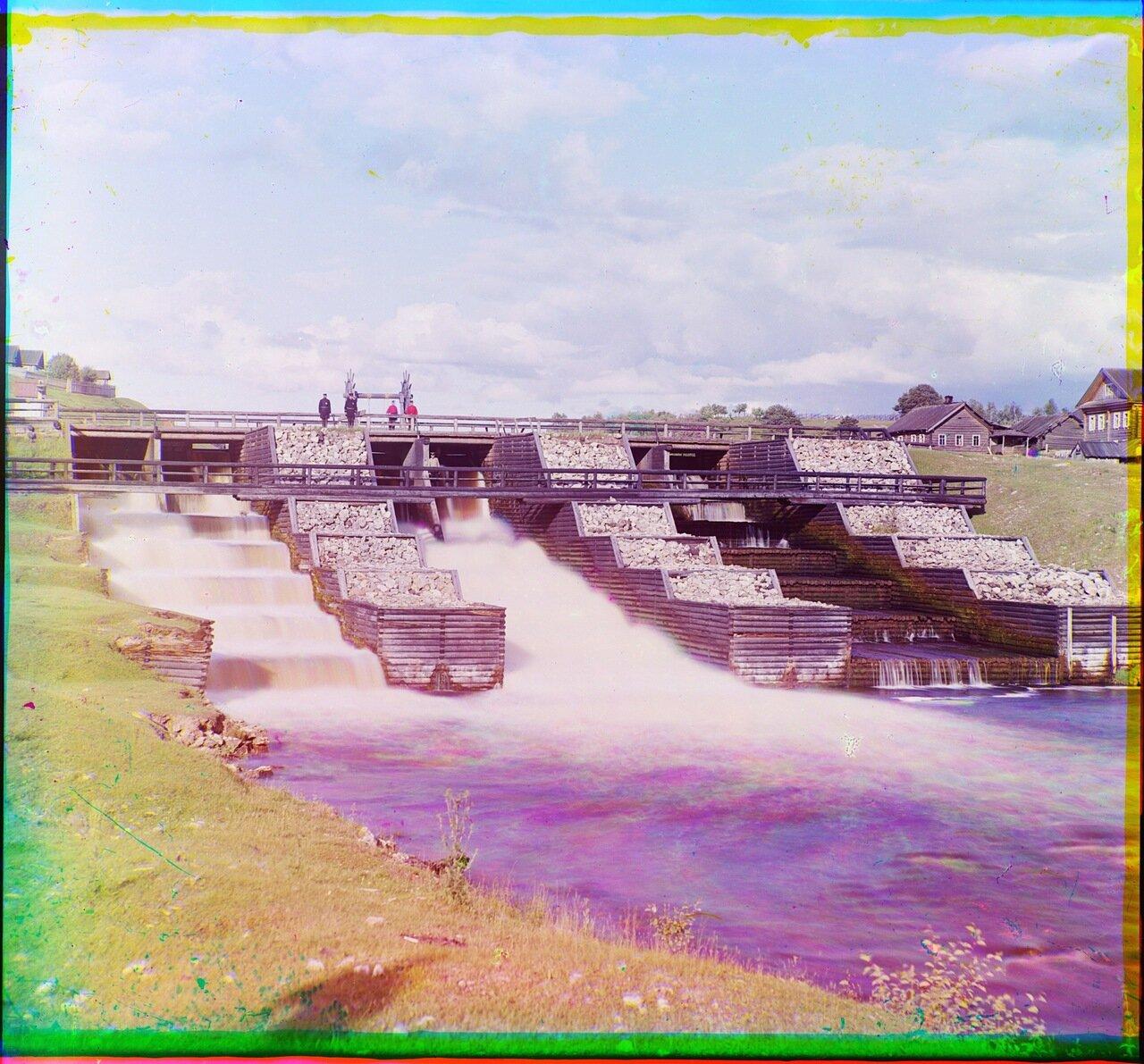 Плотина св. Павла в Девятинах.1909 год
