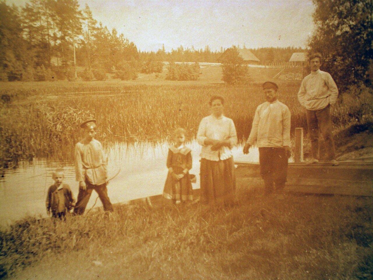 1910. Дача в Лигово