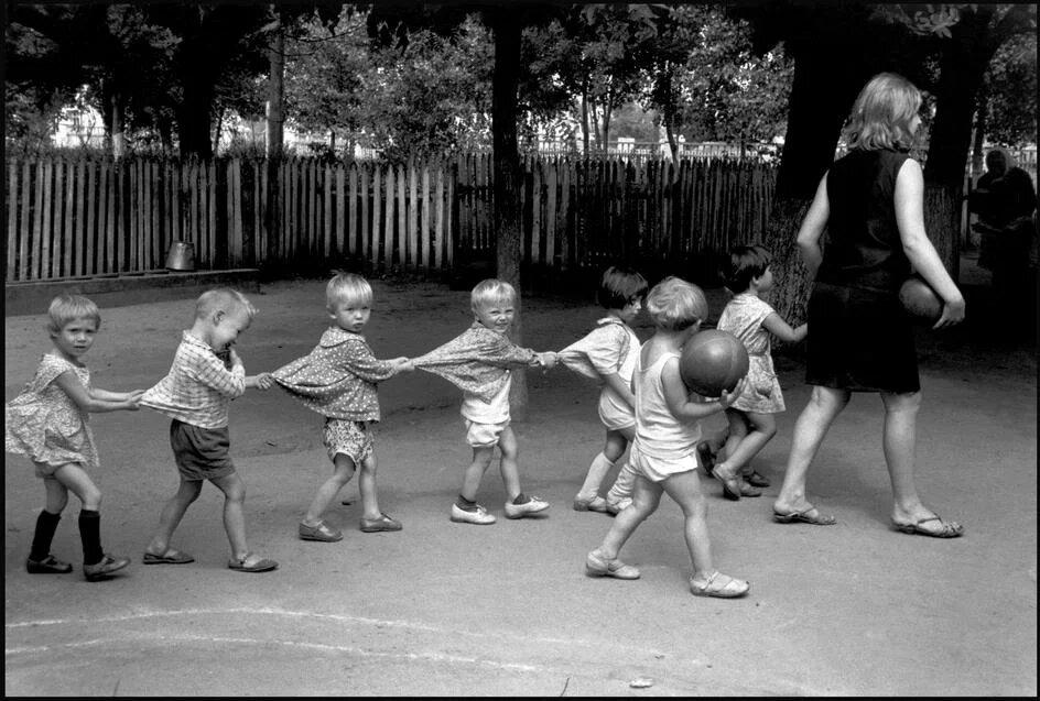 Прогулка в детском саду. Кубань