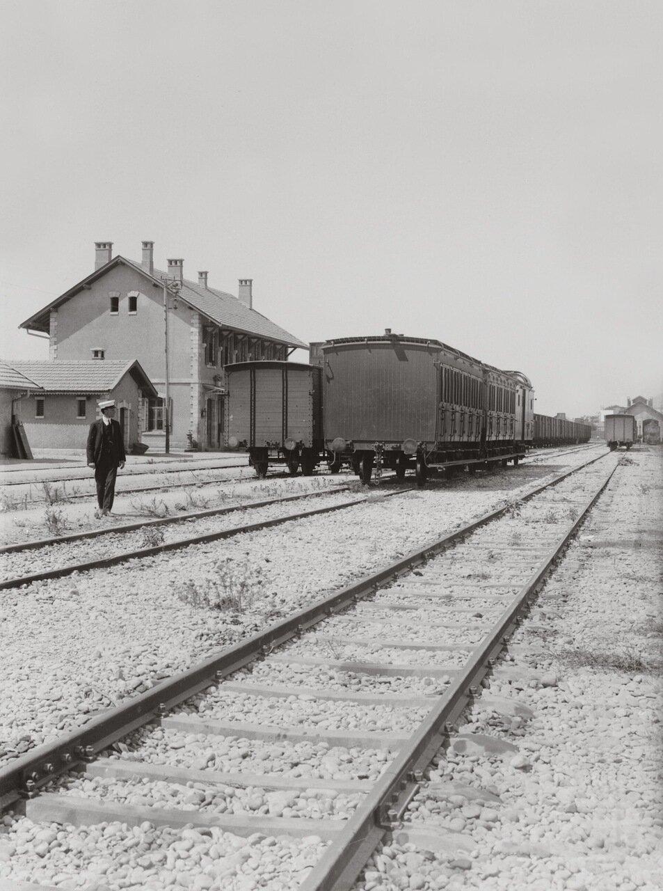 Хиджазская железная дорога. Станция Триполи, Ливан. 1900-1920 гг.