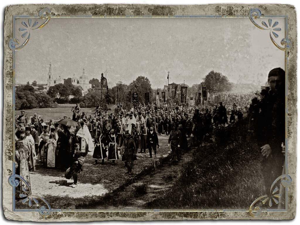 Крестный ход 12 июня 1909 год, канонизация Анны Кашинской