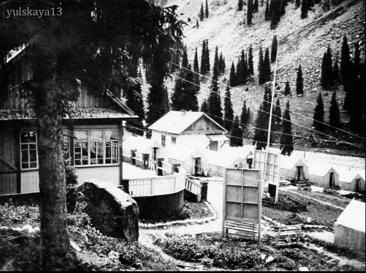 03. На территории альплагеря