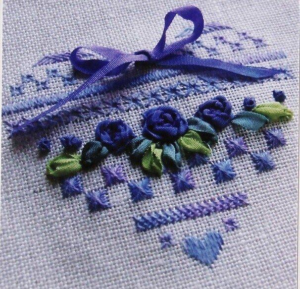 голубое сердечко от A-T-A-L-I-E