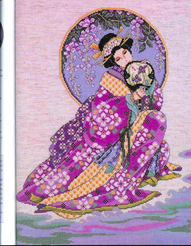 Категория: Японская вышивка