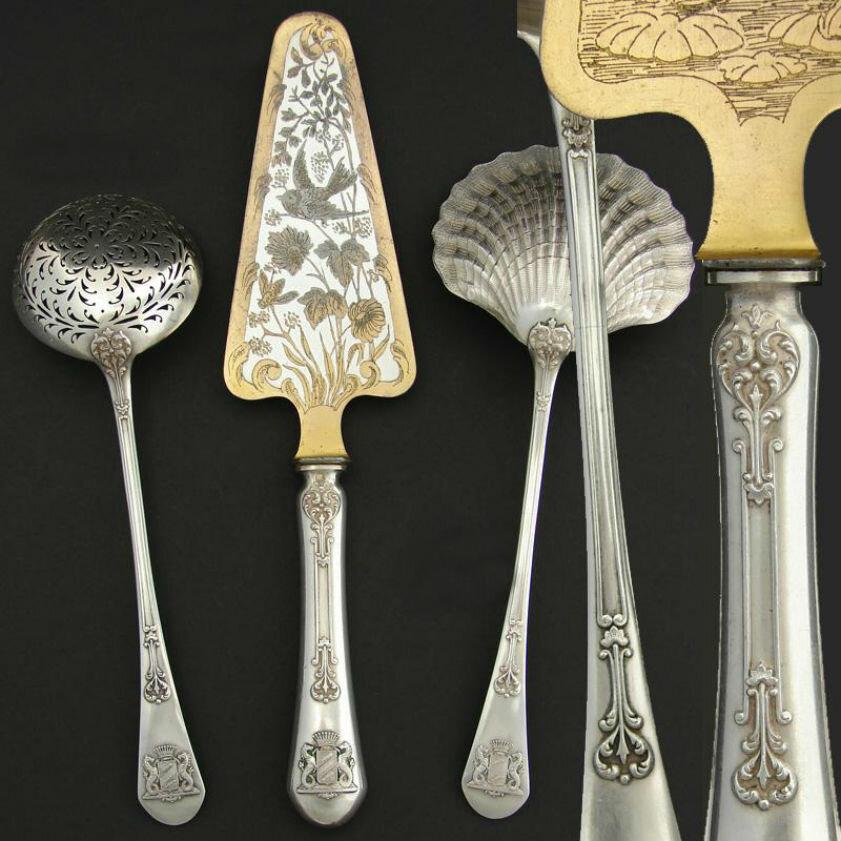 Купить в новосибирске столовое серебро