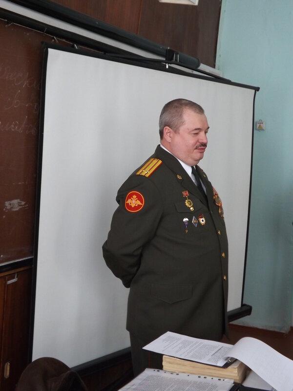 Диспут с начальником призывной комиссии