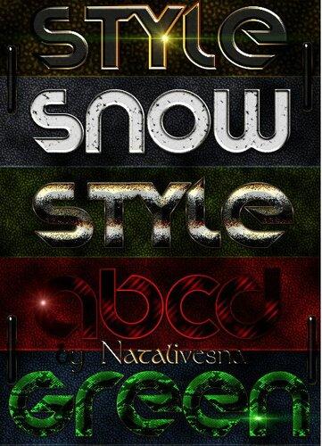 Стили для Photoshop – Разнообразие Дизайна 0_be949_e9203c4f_L