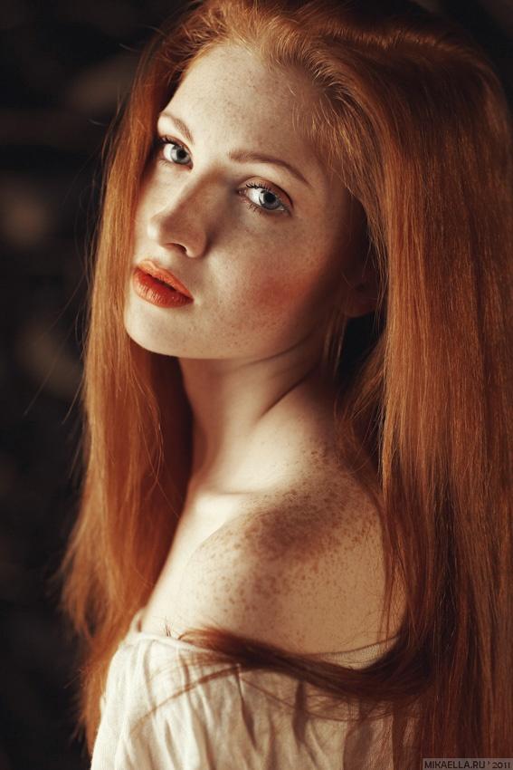 Рыжие. Женские портреты