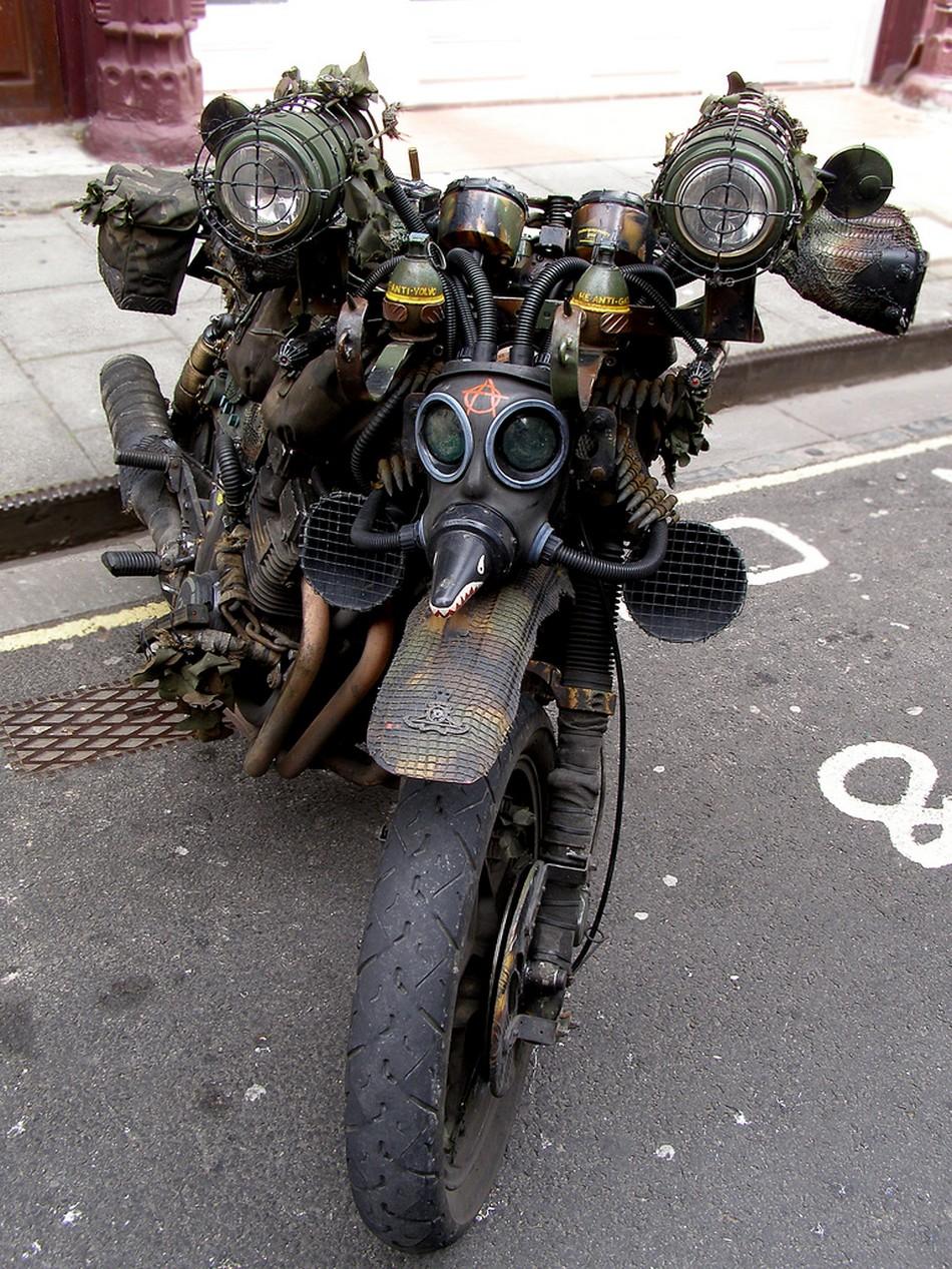Удивительные мотоциклы в стиле стимпанк