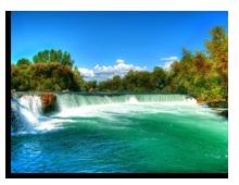 Сиде. Водопад Манавгат