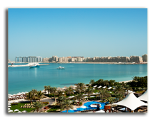 ОАЭ. Дубаи. The Westin Dubai Mina Seyahi Beach Resort & Marina. Beach and Pool Area