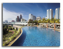 Малайзия. Куала-Лумпур. Mandarin Oriental Kuala Lumpur. swimming-pool