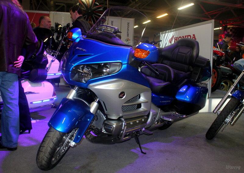 Мотоцикл Honda GL1800A Gold Wing