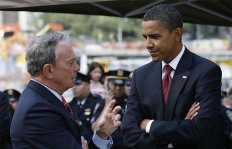 Глава города Нью-Йорк оказал поддержку Обаме