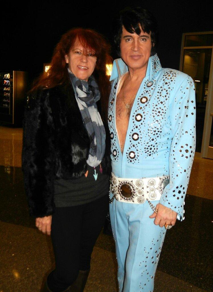 Elvis in Casino North Star.