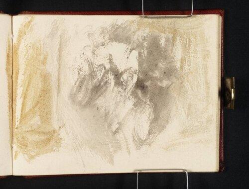 Colour Sketch circa 1834 by Joseph Mallord William Turner 1775-1851