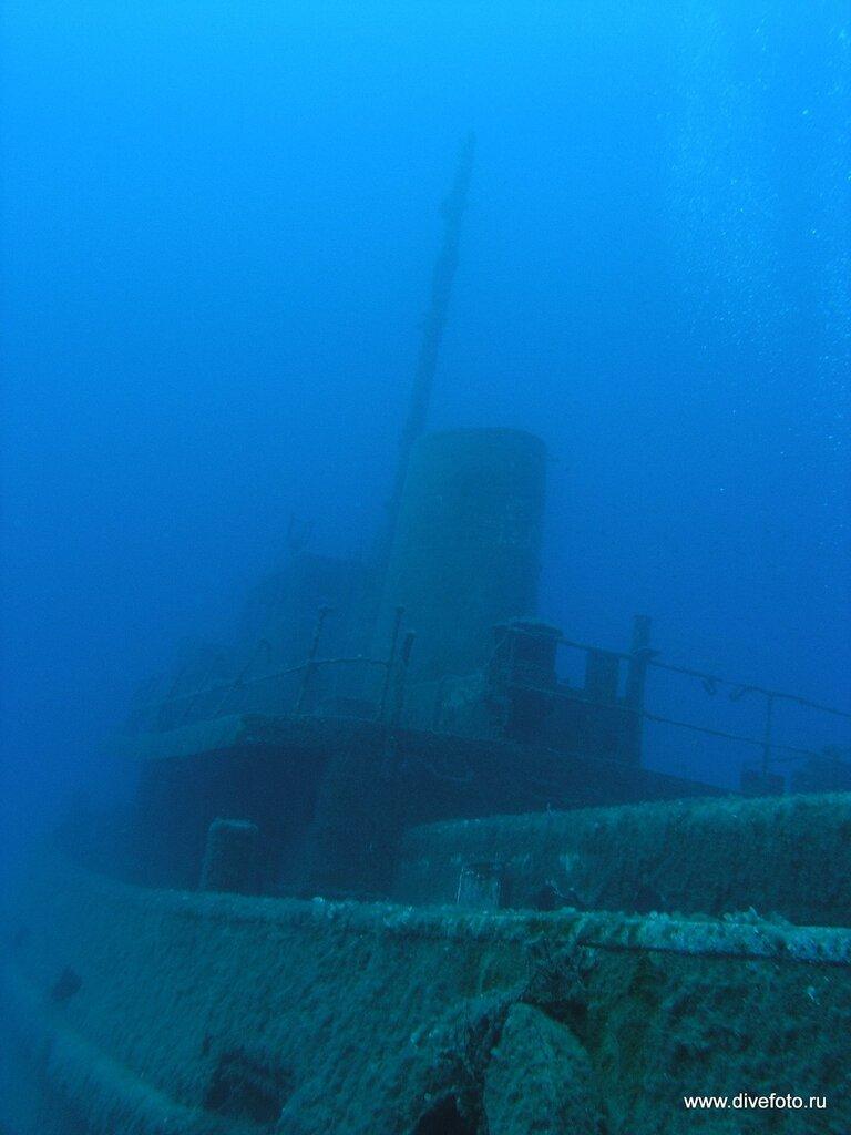 Затопленный корабль. о.Мальта