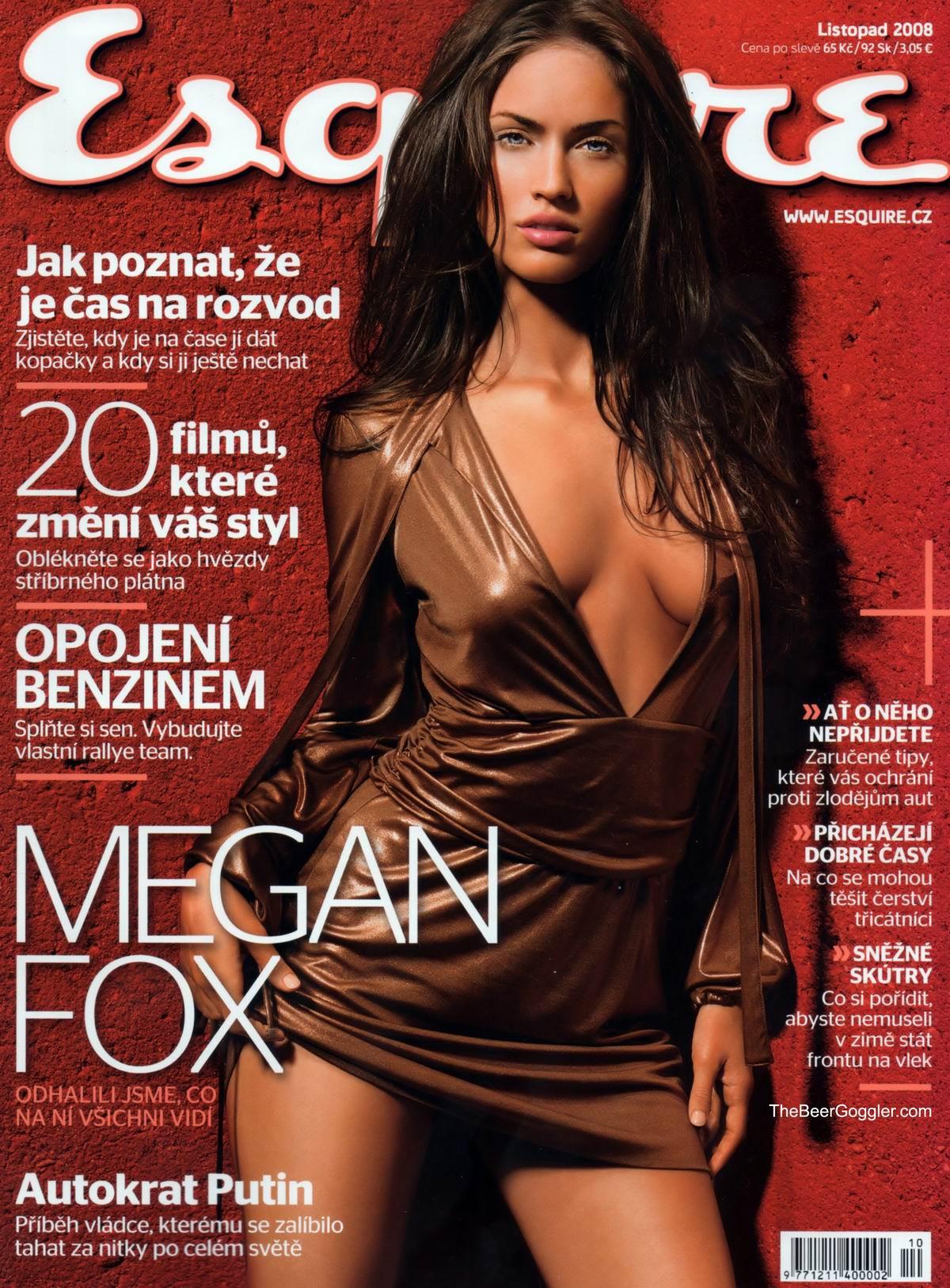 Меган Фок� megan fox �о�о в ж��нале esquire Че�ия